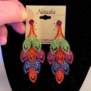 NWT Natasha Couture Jewelry Earrings